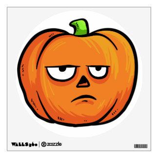 Halloween Pumpkin wall decal 6