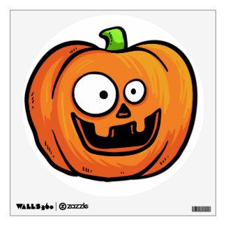 Halloween Pumpkin wall decal 7
