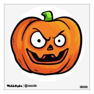 Halloween Pumpkin wall decal 8