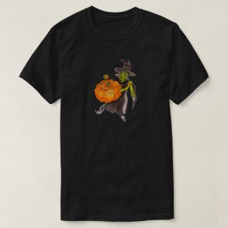 Halloween Pumpkin Witch Warlock Dance T-Shirt