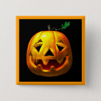 Halloween Pumpkins 2 Inch Square Button