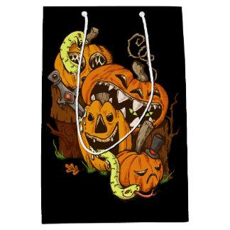Halloween Pumpkins and Snakes Gift Bag
