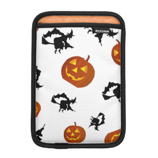 Halloween Pumpkins and Witches  iPad Case