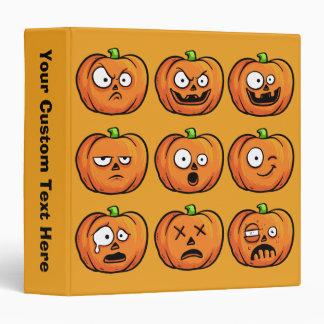 Halloween Pumpkins binders
