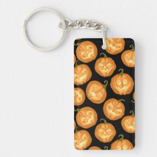 Halloween pumpkins keychain