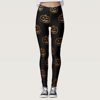 Halloween Pumpkins Leggings