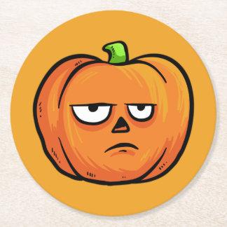 Halloween Pumpkins paper coasters 4