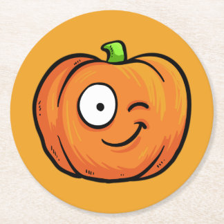 Halloween Pumpkins paper coasters 6