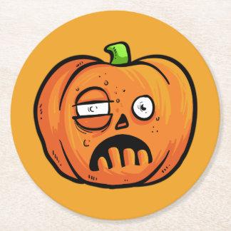 Halloween Pumpkins paper coasters 8