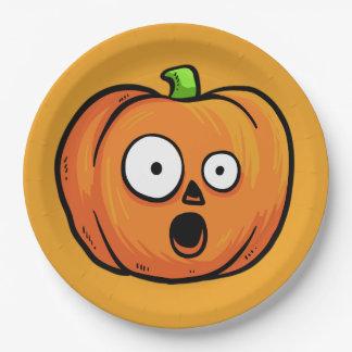 Halloween Pumpkins paper plates 5