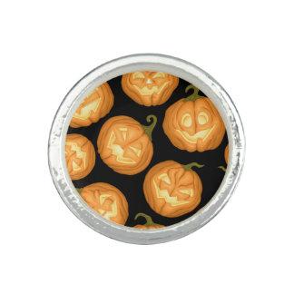 Halloween pumpkins ring