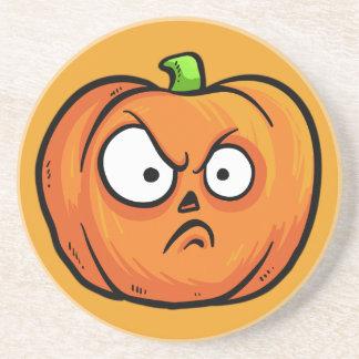Halloween Pumpkins sandstone coaster 2 b