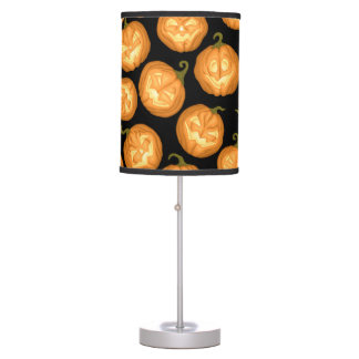 Halloween pumpkins table lamp