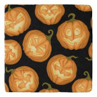 Halloween pumpkins trivet