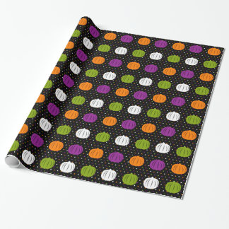 Halloween Pumpkins Wrapping Paper
