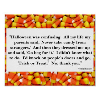 Halloween Quote Poster