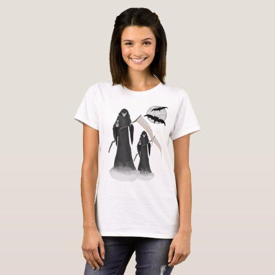Halloween Reaper  Women's Basic T-Shirt