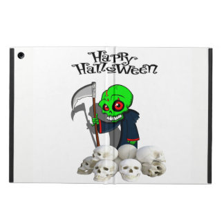 Halloween reaping skulls Ipad case