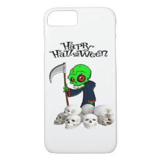 Halloween reaping skulls Iphone case