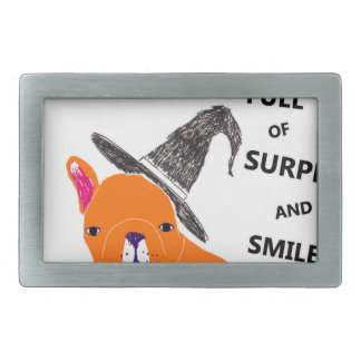 HALLOWEEN RECTANGULAR BELT BUCKLE