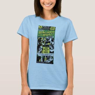 Halloween Retro Vintage Monsters Shriek Night T-Shirt