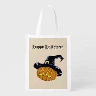 Halloween Reusable Grocery Bag