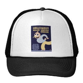 Halloween Roller Skating Carnival Trucker Hat