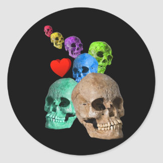 Halloween! Round Sticker
