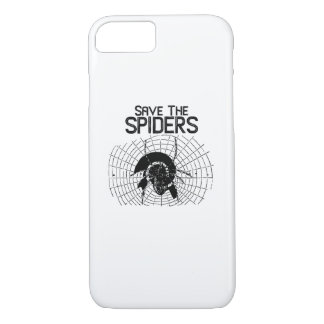 Halloween Save Spiders Web Costume iPhone 8/7 Case