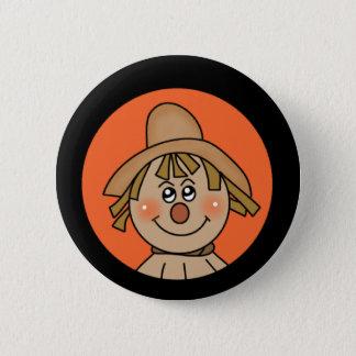 Halloween Scarecrow 2 Inch Round Button