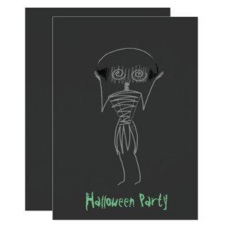 Halloween Scarecrow Card