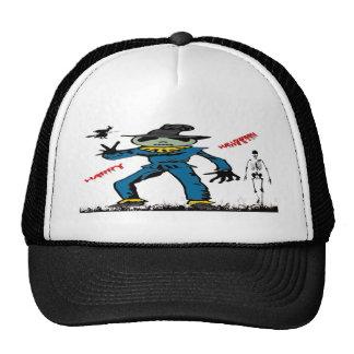 Halloween Scarecrow Trucker Hat