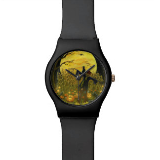 Halloween scarecrow watch