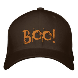 Halloween Scary Bloody Boo !!! Embroidered Hat