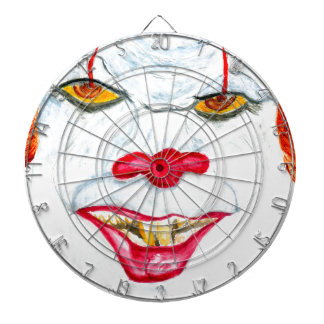 Halloween Scary Clown2 Dartboard