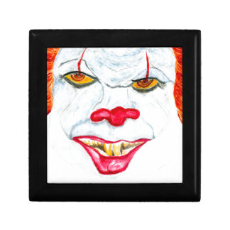 Halloween Scary Clown2 Gift Box