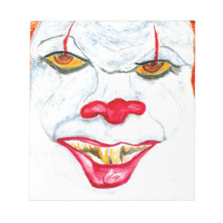 Halloween Scary Clown2 Notepad