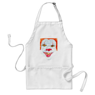 Halloween Scary Clown2 Standard Apron