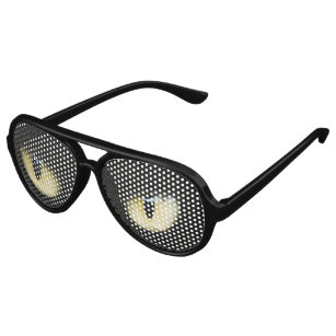 ab8d1f9701e2 Halloween Scary Eyes Aviator Sunglasses
