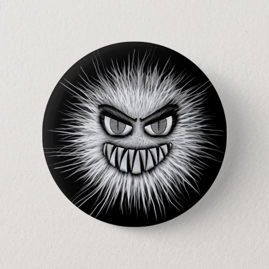 Halloween Scary Monster 2 Inch Round Button