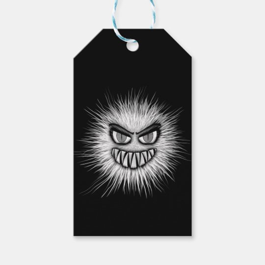 Halloween Scary Monster Gift Tags