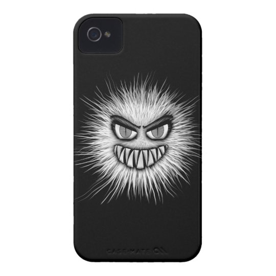 Halloween Scary Monster iPhone 4 Case