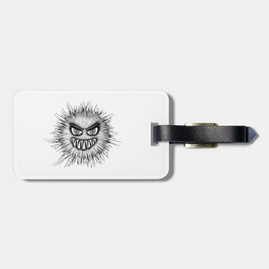 Halloween Scary Monster Luggage Tag