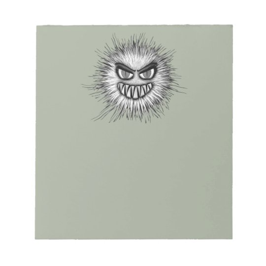 Halloween Scary Monster Notepad