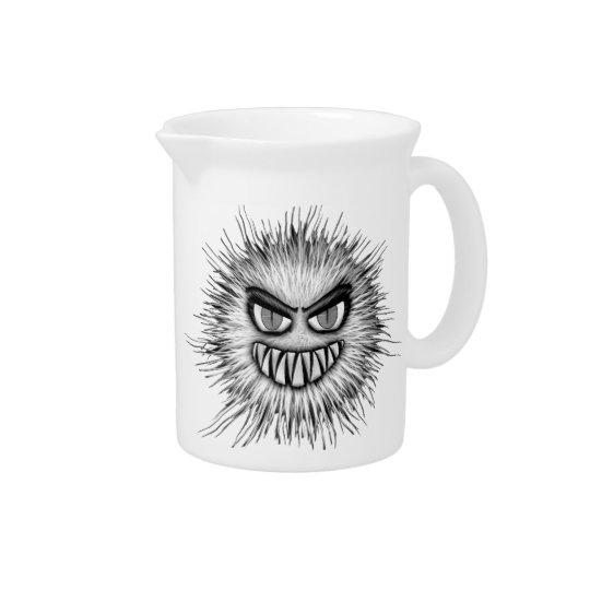 Halloween Scary Monster Pitcher