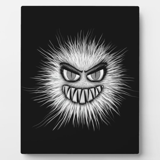 Halloween Scary Monster Plaque