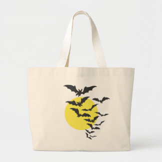 Halloween Scene Jumbo Tote Bag