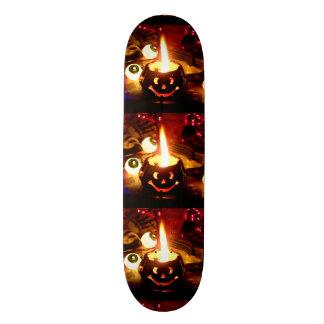 Halloween Scene Skate Board