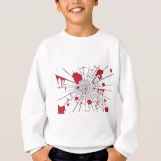 halloween shattered glass sweatshirt