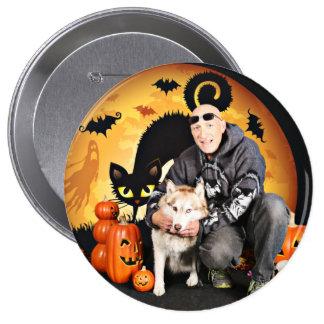 Halloween - Siberian Husky - Nala Pins